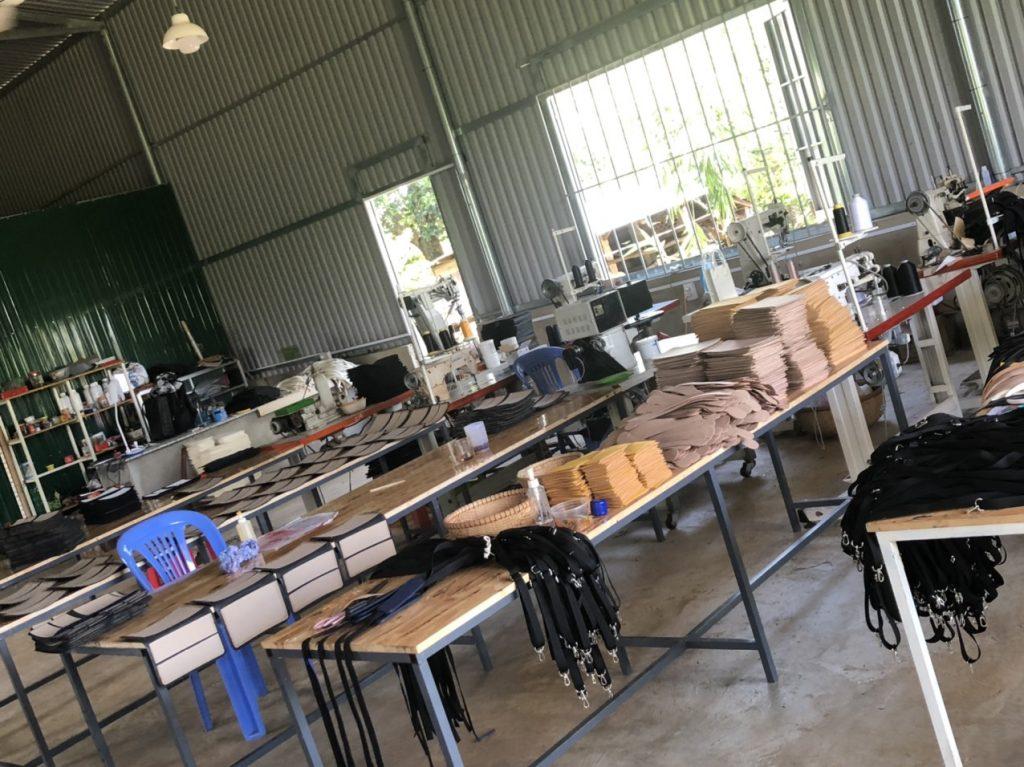 Xưởng sản xuất túi xách thời trang
